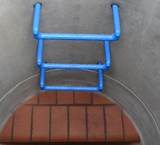 STEIGBÜGEL A 410 ® blau